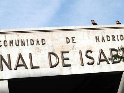 Instalación del Canal de Isabel II.