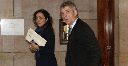 Angel María Villar, presidente de la federación.