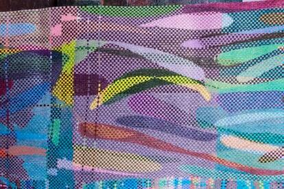 'Entre el encima y el debajo', obra de Daniela Libertad en NF Galería.