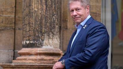 Seth Barkley, director de GAVI, retratado el 22 de octubre 2021 en el hotel Reconquista de Oviedo.