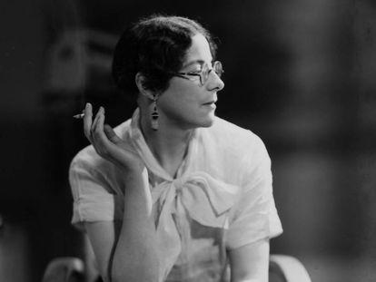 Sylvia Townsend Warner, en la década de los cuarenta.