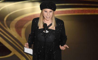 Barbra Streisand, en los Oscar 2019.
