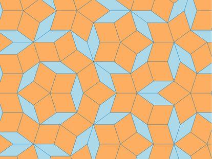 Teselación de Penrose.
