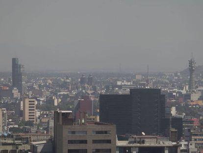 La contaminación en la Ciudad de México.