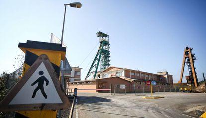 La mina de Iberpotash en Súria.