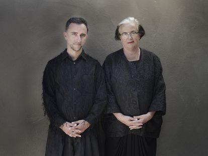 Li Edelkoort y Philip Fimmano, fundadores del Foro Mundial de la Esperanza.