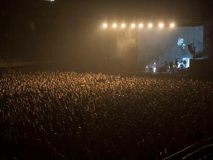 Imagen del concierto del Palau Sant Jordi del pasado 27 de marzo.
