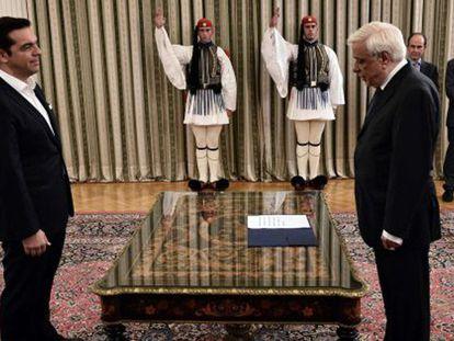 La débil mayoría de Tsipras cuestiona la viabilidad del futuro Gobierno