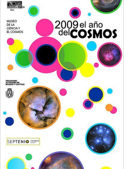 Cartel del Año del Cosmos 2009