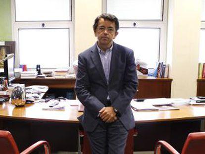 Pablo Carrasco, en la dirección de la RTVA.