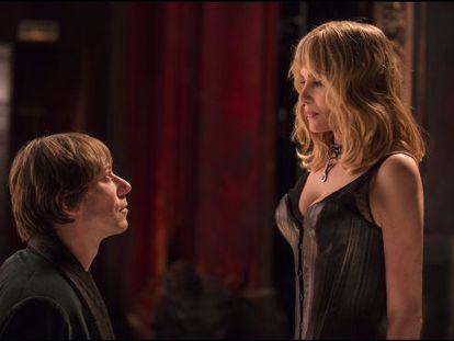 Mathieu Amalric y Emmanuelle Seigner, en el filme.