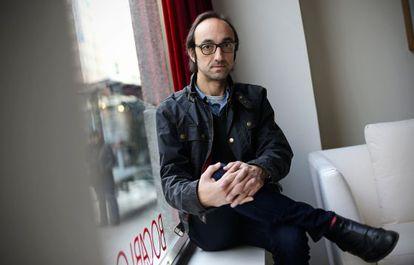 El escritor Agustín Fernández Mallo en Madrid.