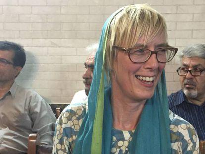 La escritora de viajes y novelista Patricia Almarcegui.