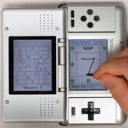 La consola portátil DS.