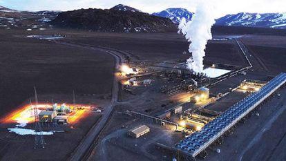 Cerro Pabellón, la primera planta geotérmica de Sudamérica.