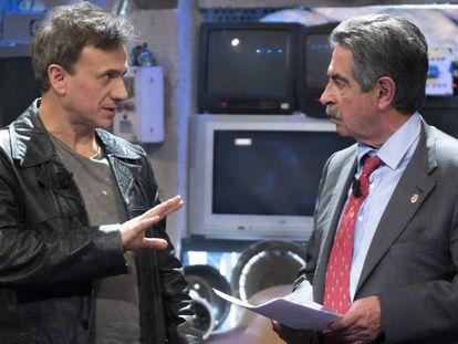 José Mota y Miguel Ángel Revilla, en 'El Acabose'.