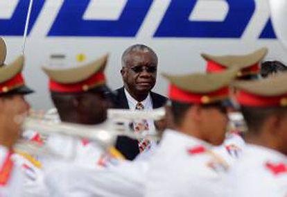 En la imagen, el primer ministro de Barbados, Freundel Stuart. EFE/Archivo