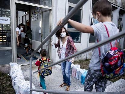 La vuelta al cole ha estado marcada por las medidas de seguridad impuestas por las restricciones sanitarias derivadas de la pandemia del coronavirus.