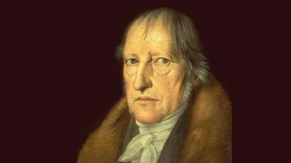 Hegel, como lo pintó Jakob Schlesinger en 1831.