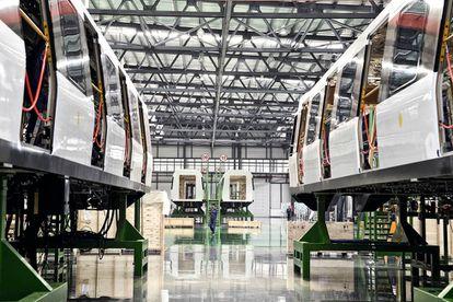 CRRC también fabrica unidades de metro, que son, precisamente, las que tienen más éxito fuera de sus fronteras.