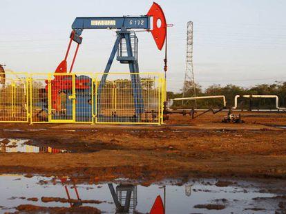 Pozo petrolífero en el Estado venezolano de Zulia, en una imagen de archivo.