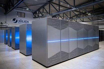 El supercomputador Juwels, en el Centro de Supercomputación de Jülich