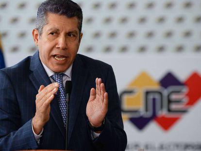 El candidato a presidente de Venezuela, Henri Falcón, el pasado 2 de marzo.