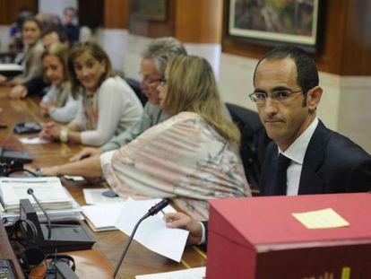 El concejal de Hacienda del Ayuntamiento de Vitoria, Manu Uriarte