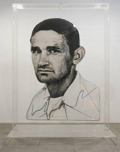 'Jones', de Dario Villalba que puede verse en la Fundación Suñol.