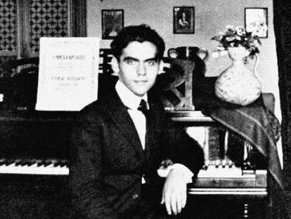 Federico García Lorca, retratado en 1919, a sus 20 años.