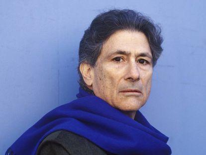 El intelectual palestino Edward Said, en 1996.