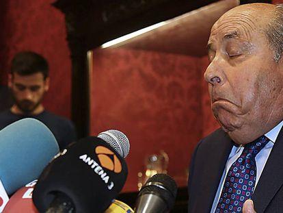 El alcalde de Granada, José Torres Hurtado, el miércoles.