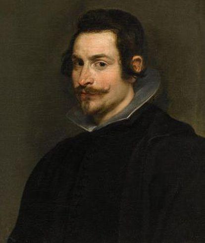 'Retrato de un caballero' de Rubens.