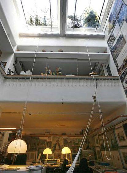 Casa subterránea del arquitecto Fernando Higueras, en la calle de Maestro Lasalle, 36.
