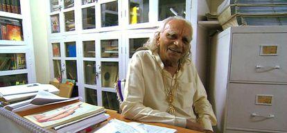 B.K.S. Iyengar.