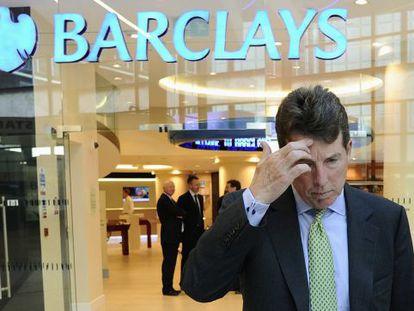 Bob Diamond, tras ser nombrado consejero delegado de Barclays en septiembre de 2010.