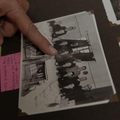Algunas de las fotografías traen información el parte trasera pero una gran parte permanecen con una interrogante.
