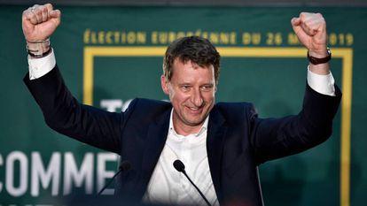 Yannick Jadot, cabeza de lista de Europa Ecología-Los Verdes a las elecciones europeas