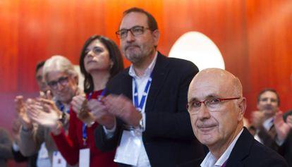 El exlíder de Unió Josep Antoni Duran Lleida (derecha), en una imagen de archivo.