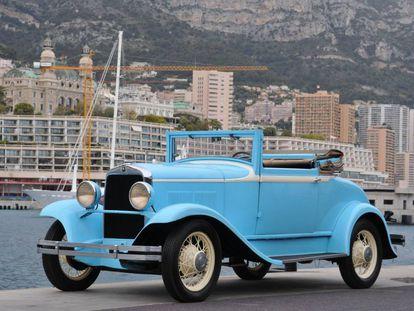Plymouth Cabriolet de 1931, propiedad de la familia Grimaldi hasta que fue subastado en 2006.