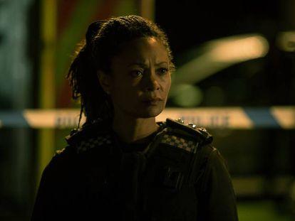 Thandie Newton en la cuarta temporada de 'Line of Duty'.