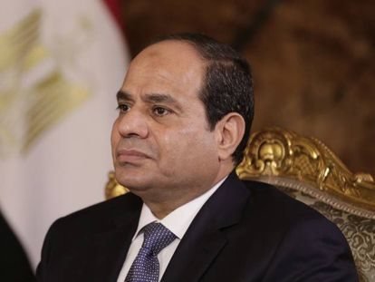 El presidente de Egipto, Abdelfatá al Sisi.