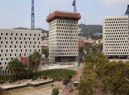 Construcción en Santa Coloma de Gramenet, origen del pelotazo urbanístico.