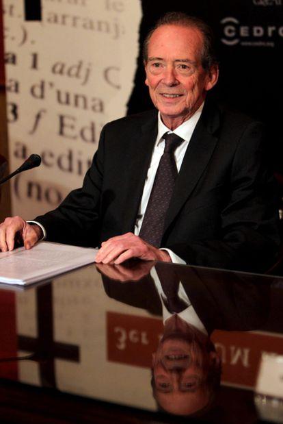 El director de la Real Academia Españaola (RAE), José Manuel Blecua.