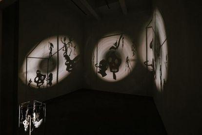 Una de las salas de la exposición 'Dopo', de Christian Boltanski.