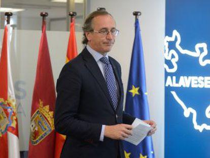 El pacto para las elecciones en Euskadi se cierra en Madrid a espaldas de Alonso