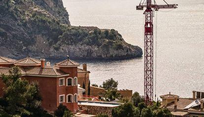 Chalés en Cala Llamp (Andratx, Mallorca).