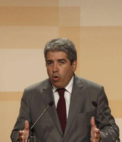 El portavoz del Gobierno catalán, Francesc Homs.