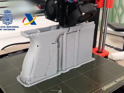 El primer taller clandestino de España constata las armas 3D como una gran amenaza europea