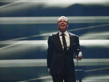 El cantante Luis Miguel durante una presentación en Las Vegas, en septiembre de 2019.